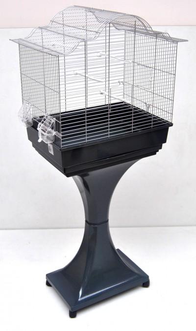 mega vogelk fig wellensittich kanarien mit st nder k fige. Black Bedroom Furniture Sets. Home Design Ideas